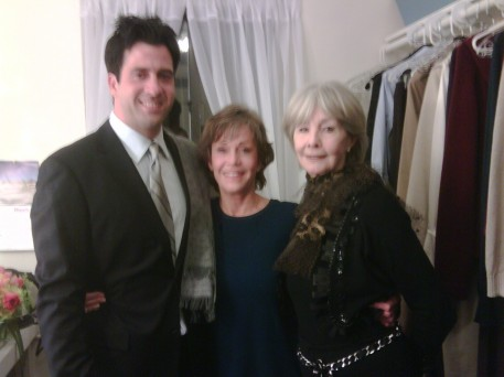 With Troy and my step mother, Shirlee Fonda