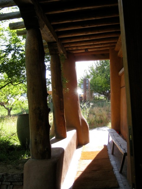 Entrance to the Zendo