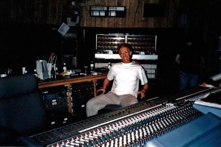 And then there's my definitely urban friend, Richard Perry, in his recording studio. What will he think of the ranch? Stay tuned