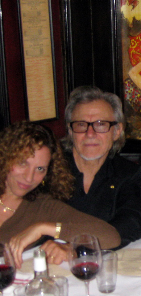 Daphna and Harvey Keitel