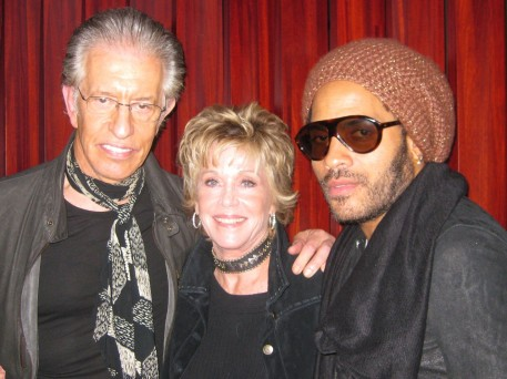 Richard, Me and Lenny Kravitz
