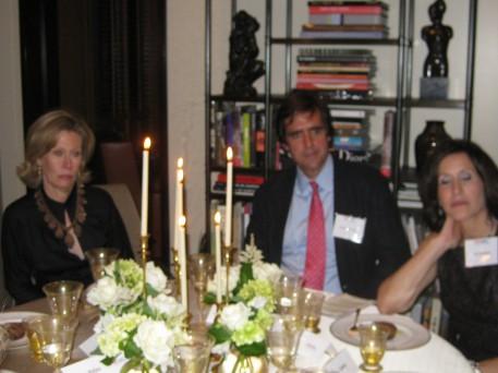 Annette Allen, JamesBenedict and Lori Ordover