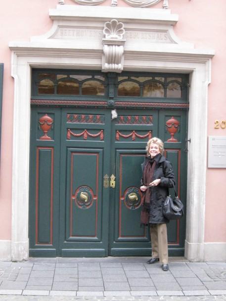 Outside the Beethoven House