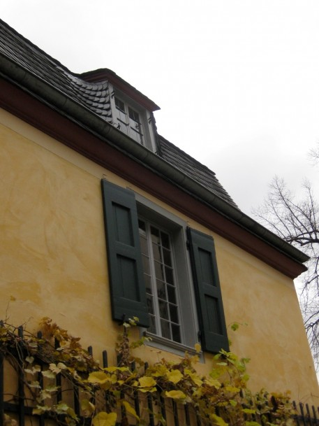 The small dormer window above was the room where Beethoven was born