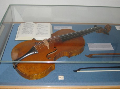 A violin used by Beethoven