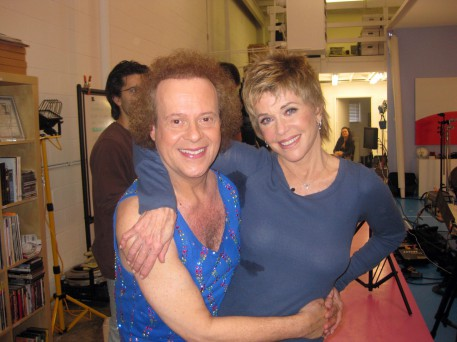 me and Richard Simmons