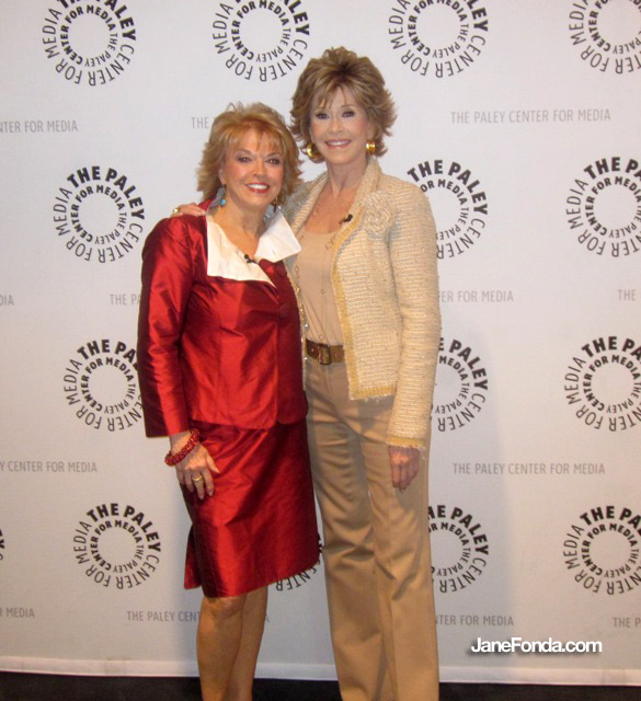 With my dear friend, Pat Mitchell, president and CEO of the Paley Center before the evening's event