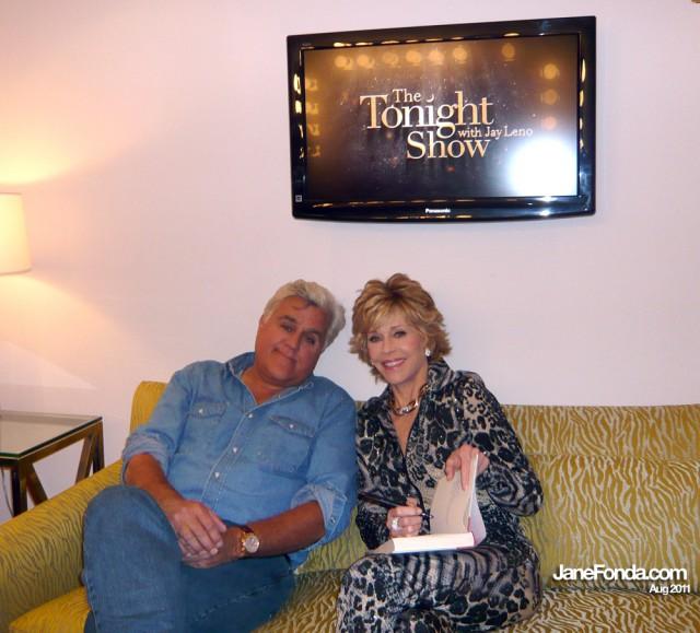 with Jay Leno