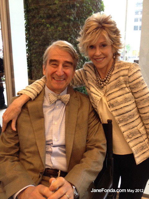 with Sam Waterston