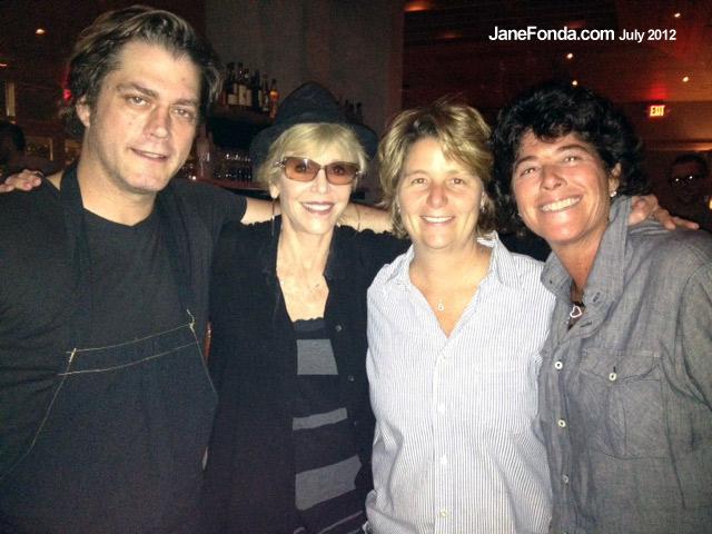 Chef Joe Truex, Ross Jones and Sue Owens of Watershed
