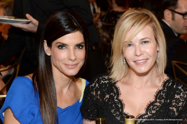 Sandra Bullock & Chelsea Handler
