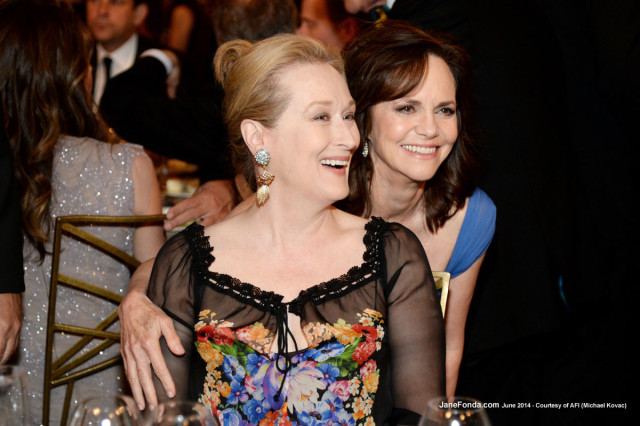 Meryl Streep and Sally Field