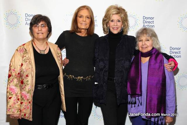 Jessica Neuwirth, Gloria Steinem, Robin Morgan