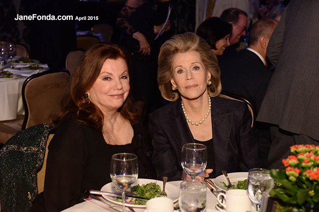 With Marsha Mason at the L.A. Theatre Works 40th anniversary gala