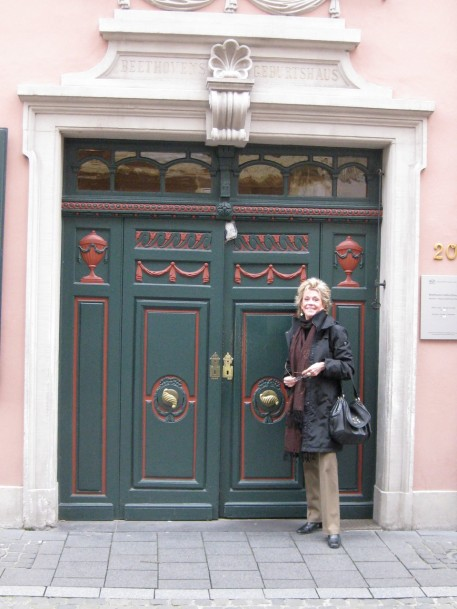 Outside the Beethoven House