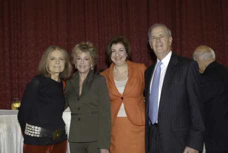 Gloria, Me, Karen Karpowich, Rancy Guggenheimer (Son of Elinor Guggenheimer, founder of NYWA)