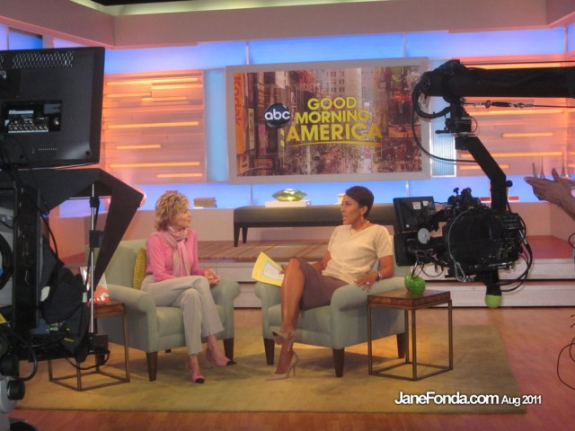 With Robin Roberts