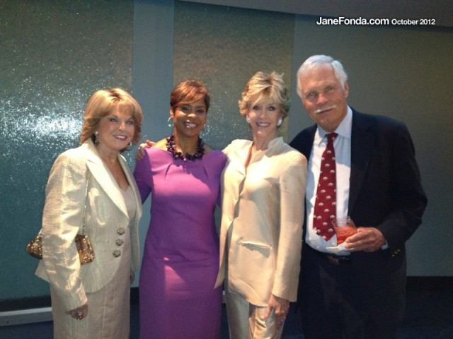 The evening began with a VIP reception. Here we are with Pat (far left) and Vikki Morrow, President & CEO of G-CAPP.