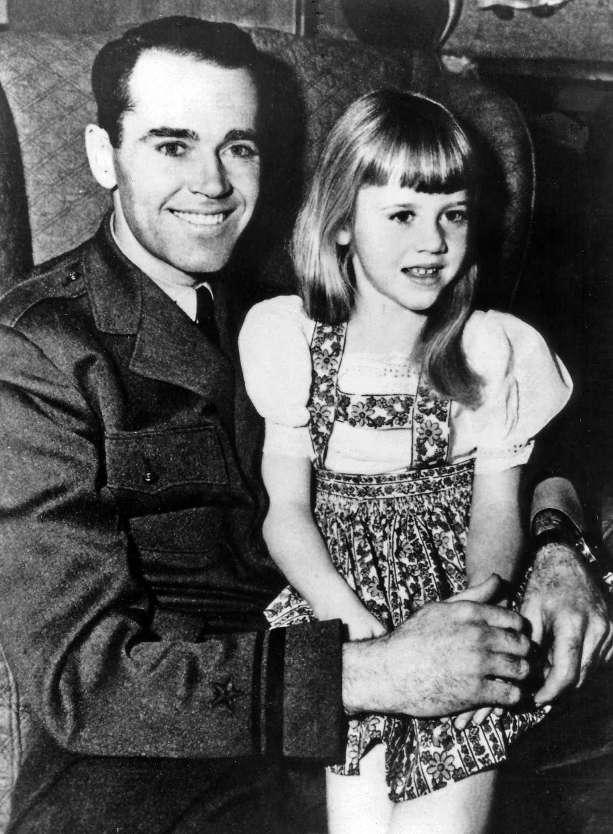 Jane and Father Henry Fonda