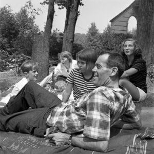 Family Picnic for Harper's Bazaar