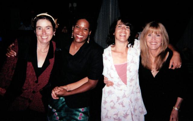Nathalie, LuLu, Vanessa, Me