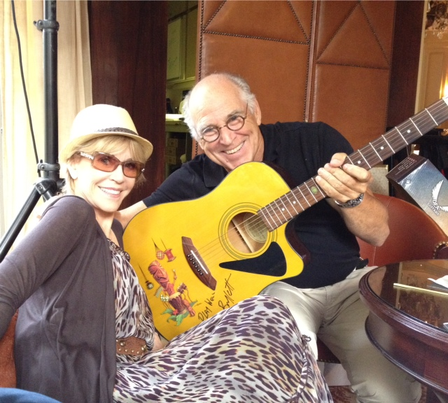 With Jimmy Buffett