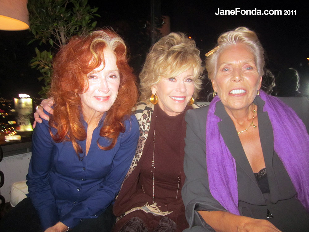 with Joni Mitchell and Bonnie Raitt