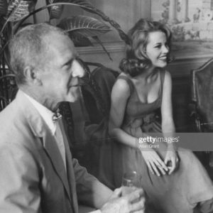 With photographer and great family friend, Johnny Swope who was married to Dad's 1st co-star, Dorothy McGuire